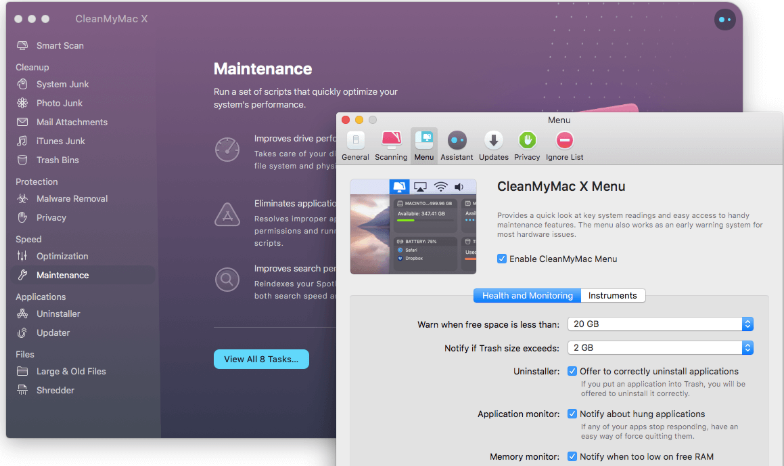 Clean MyMac X 4.8.6 Crack + Activation key download